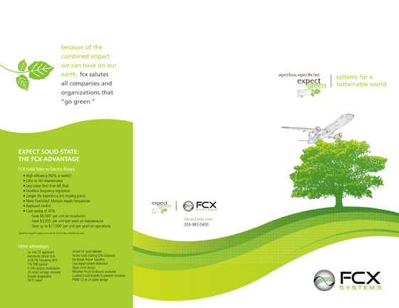 FCX Systems print design